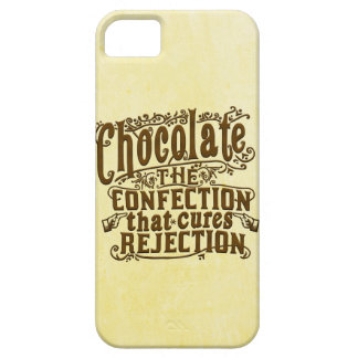 Funny Chocolate Writer Rejection Cure iPhone SE/5/5s Case