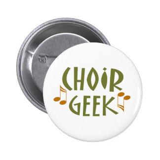 Funny Choir Geek Music Gift Button