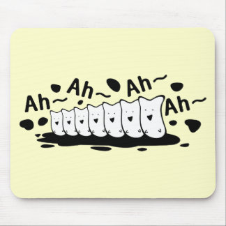 Funny choir mouse pads