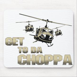 Funny Choppa Mouse Pad