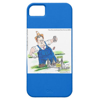 Funny Chris Christie Cartoon on iPhone 5/5S Case