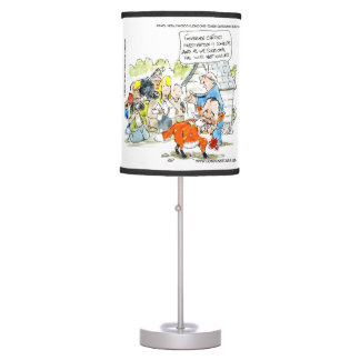 Funny Chris Christie Like A Fox Table Lamp
