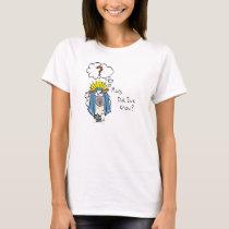 Funny Christian Christmas Cute Sheep Cartoon T-Shirt