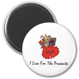 Funny Christmas 2 Inch Round Magnet