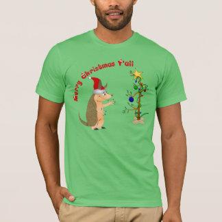 Funny Christmas Armadillo Shirt