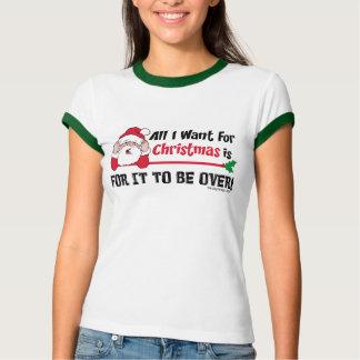 Funny Christmas Be Over Shirt