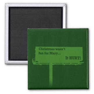 Funny Christmas Billboard magnet