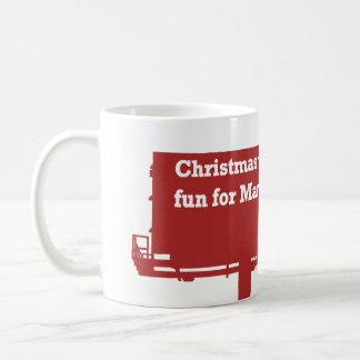 Funny Christmas Billboard mug