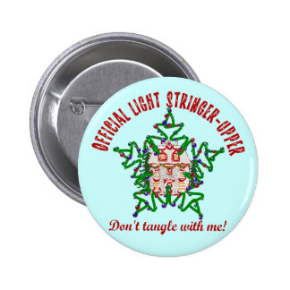 Funny Christmas Pinback Buttons