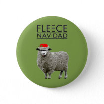 funny Christmas Button