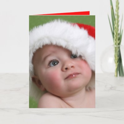 Funny Christmas Card - Fat Man