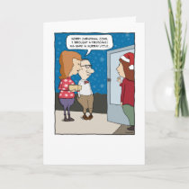 Funny Christmas card: Murray Little Holiday Card