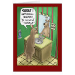 Funny Christmas Cards: All-Nighter