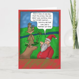 Funny christmas cards christmas abroad card
