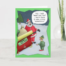 Funny Christmas Cards: Hard of Hearing Holiday Card
