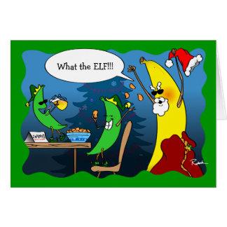 Funny Christmas Cards | Holiday Banana Greeting