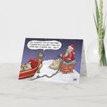 Funny Christmas Cards: Jolly Idea Holiday Card
