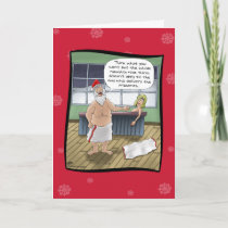 Funny Christmas Cards: Naughty and Nice Rules Holiday Card