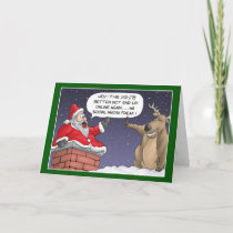 Funny Christmas Cards: Online Post Holiday Card