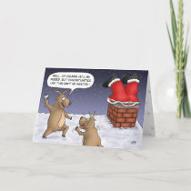 Funny Christmas Cards: Opportunities Holiday Card