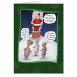 Funny Christmas Cards: Put the Fire Out