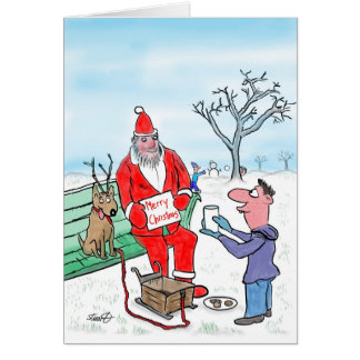Funny Christmas Cards:The Meaning Of Christmas Card