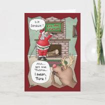 Funny Christmas Cards: 'Tis the Season Holiday Card