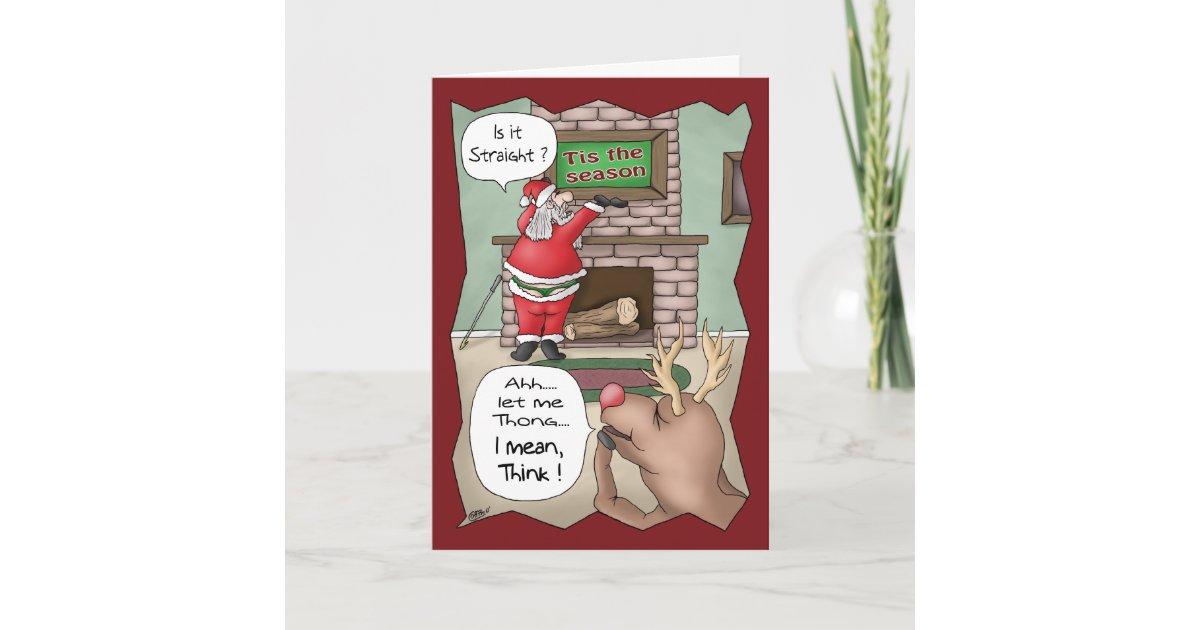 Funny Christmas Cards: \'Tis the Season Holiday Card | Zazzle.com