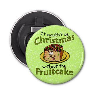 Funny Christmas Cartoon Fruitcake