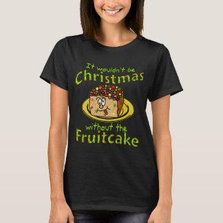 Funny Christmas Cartoon Fruitcake 2 T-Shirt