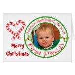 Funny Christmas Custom Photo & Text Card