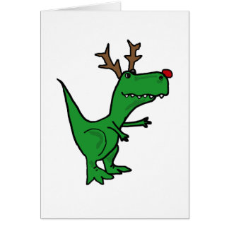 Funny reindeer christmas greeting cards zazzle for Funny reindeer christmas cards