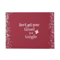 Funny Christmas Doormat