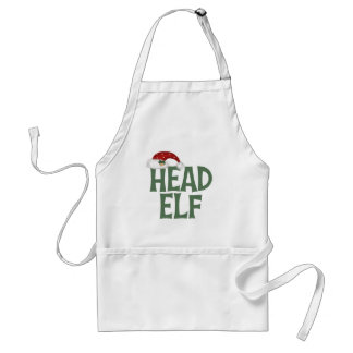 Funny Christmas Elf Apron