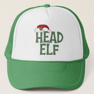 Funny Christmas Elf Hat/Cap Trucker Hat