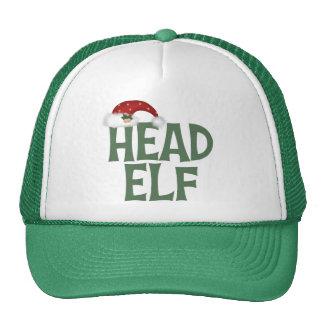 Funny Christmas Elf Hat/Cap Trucker Hat