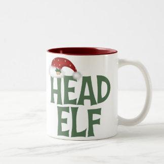 Funny Christmas Elf Mug