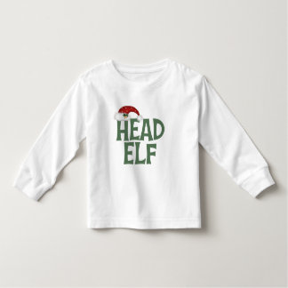 Funny Christmas Elf Toddler T-Shirt