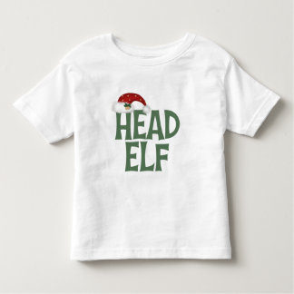 Funny Christmas Elf Toddler T-Shirt