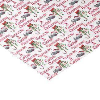 Funny Christmas Fishing ♫♥  Catfish Christmas Tissue Paper