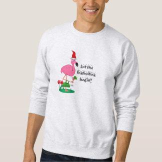 Funny Christmas Flamingo Sweatshirt