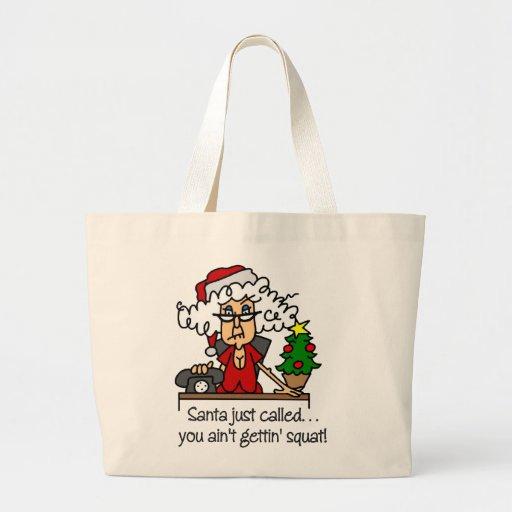 Funny Christmas Gift Bags