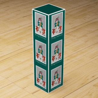 Funny Christmas Gift Box - Musical Snowman