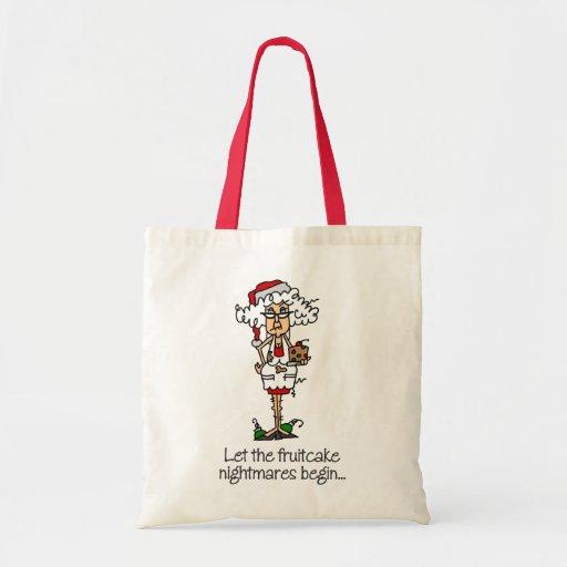 Funny Christmas Gift Canvas Bag