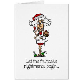 Funny Christmas Gift Greeting Card