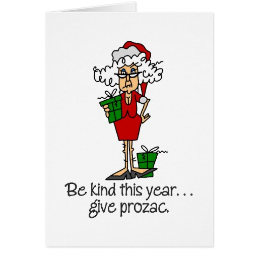 Funny Christmas Gift Greeting Cards