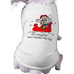 Funny Christmas Gift Dog Tee Shirt