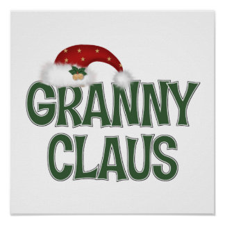 Funny Christmas Gift For Grandother Poster