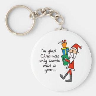 Funny Christmas Gift Key Chain
