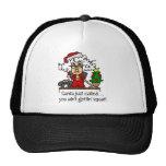 Funny Christmas Gift Mesh Hat